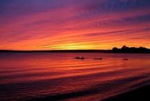 sunsets / by Danielle Huneycutt