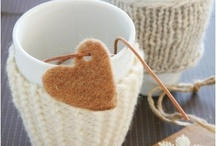 Cup cozy's / by Janet McKenney