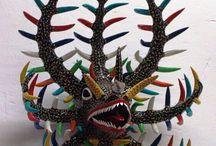 vejigante masks / by Margaret Elkins