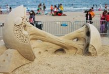 Sand Art / Amazing sand sculptures / by Alexander Santiago