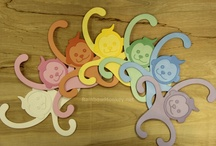 RainbowMonkey Hangers / by Kennedy