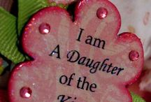 ✞ Daughter of My Heavenly Father ✞ / All For the Glory of God!  I am the daughter of a King who is not moved by the world, for my God is with me & goes before me. I do not fear because I am His!! / by ~✿ Deb ✿~