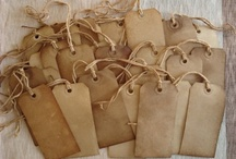 Tags, Bags, & Ticket Love / by Scrap It Girl, Kimberly Congdon