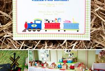 Kids birthday party ideas / by Ashley Ruge