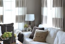 Curtain ideas / by Julie Wade