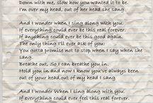 Solid lyrics / by Melissa Rae