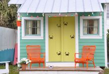 Beach House Ideas / My goal is to one day have a beach house somewhere, anywhere! / by Jennifer Arnold,