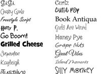 fun fonts / by Stacy Buck
