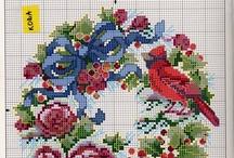 Cross stitching / by Vicki Hiser