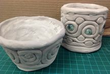 Clay / Exemplars, project ideas, and safety with clay ceramics / by Caitlin Giroux
