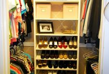 Closets / by Stephanie Ware