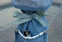 old jeans / by Carol Fix