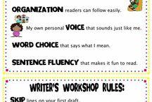School Ideas: Language Arts/Spelling/Writing / by Jackie Riplinger