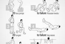 Exercise / by Frank Wuzzardo