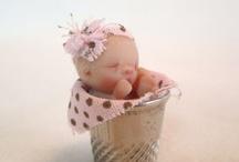 Mini baby dolls / by Eloise Walker