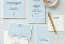 W Invites & Stationary / by Carol Mo