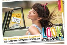 Look Cyzone 2014 / Tú también puedes inspirar! Cuéntanos cómo :) Sube tu foto y tu video e inscríbete --> http://bit.ly/Inscripciones-LookCyzone2014 / by Cyzone