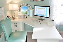 Craft/Office space / by Kimberly Hamner