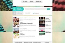 [ Design ] Website / by Tueymeaw Piyawan