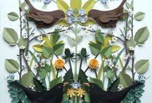 Art, paper, Helen Musselwhite / by Violet Reine