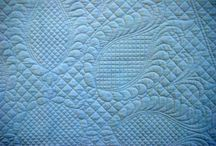 QUILTS -Whole Cloth Quilts  / by Tennette Curry