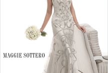 Opulent Beading / Luxurious bead embellishments and sparkling Swarovski crystals ornament dresses as the beading trend continues for Spring 2014. Used as a prominent feature in twinkling cap-sleeves, dusting the shoulder and glittering beaded belts at the waistline. / by Maggie Sottero Sottero