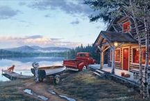 At the Cabin / Days pass at a wonderful, leisurely pace when you're at the cabin. / by Hadley House
