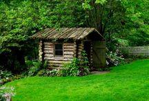 cabins / by Carrie Gawne Nichols