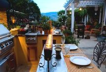 OUTDOOR KITCHENS / by Dawn Neill