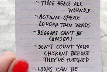 Great Sayings / by Kari Kunkel