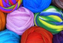 Felting Fiber / Natural fiber and wool for wet felting, needle felting, nuno felting, you name it. / by A Child's Dream