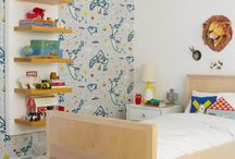 Kid Rooms / Kid Room Ideas / by Sarah Vespasian