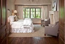 bedroom interiors / by Holly Stafford