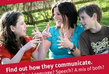 Deaf awareness tips / Tips to help your friend communicate with your deaf child. SHARE on facebook and twitter. / by NDCS