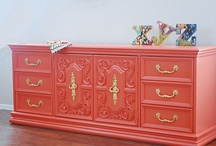 Furniture Ideas & Refinishing Tips / by Emerald Pittman