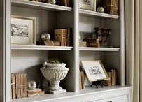 Bookcases & Bulit-ins / by Lynn Cranmer Mihok