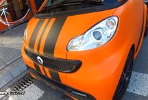 Smart de Blanco a Naranja Racing Mate - Vinilado integral Car Wrapping by Pronto Rotulo since 1993 / En este caso destripamos un Smart de color Blanco para vinilarlo integramente en Naranja con detalles en Negro Mate que lo convierten en un Smart Naranja Mate Racing by Pronto Rotulo.  Materiales MacTac gama Wrap.  + info en http://www.prontorotulo.com/ + info en https://www.facebook.com/prontorotulo + info en https://www.twitter.com/prontorotulo + info en https://www.youtube.com/prontorotulo  / by Pronto Rotulo