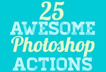 Photoshop Actions / by David Dassau