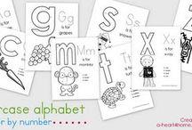 alphabet school / by Andrea Smyers