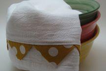 Flour Sack Towels / by Teri Voyles