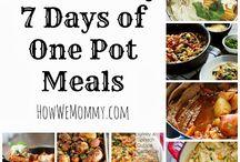 One pot meals and mason Jar meals / by Jennifer Avery