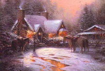 Thomas Kinkade / Images from the painter of light / by Dale
