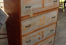 waterfall highboy dressers / by 4 the love of WOOD