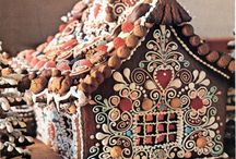 1 • HOMES:  GINGERBREAD HOUSES / by Bonnie Hanszen