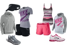 athletic gear <3 / by Stephany Sanchez