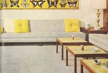 1960s retro interiors / by Nelsonya Graves