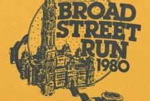 Blue Cross Broad Street Run T-shirts / Blue Cross Broad Street Run T-shirts throughout the years / by Independence Blue Cross (IBX)