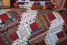 I love Log Cabin quilts / by Diane Payette