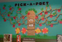 Reading & Language Arts Bulletin Boards / by Bulletin Board Ideas for Elementary School Teachers