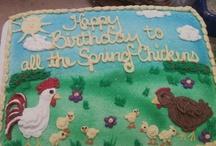 my cake creations / made by ME  / by Wendy Kilchewski
